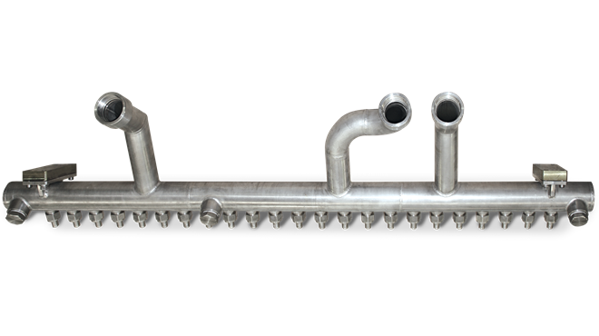 Roll Cooling Header