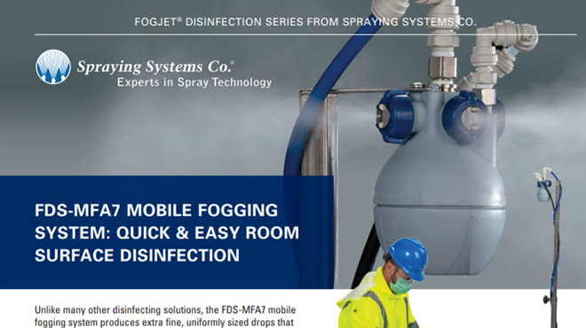 B766 FDS-MFA7- Mobile Fogging System