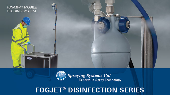 B767 FogJet Disinfection Series