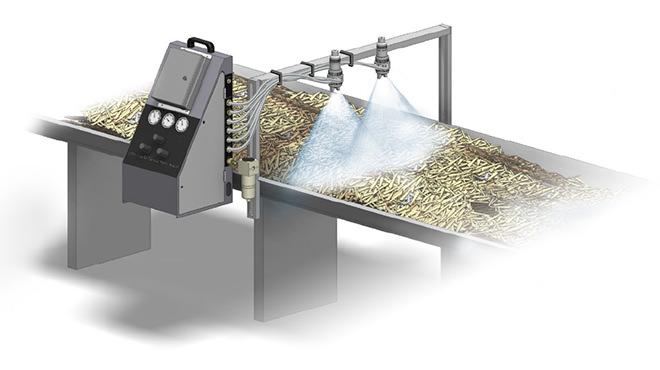 osb automated spray system application