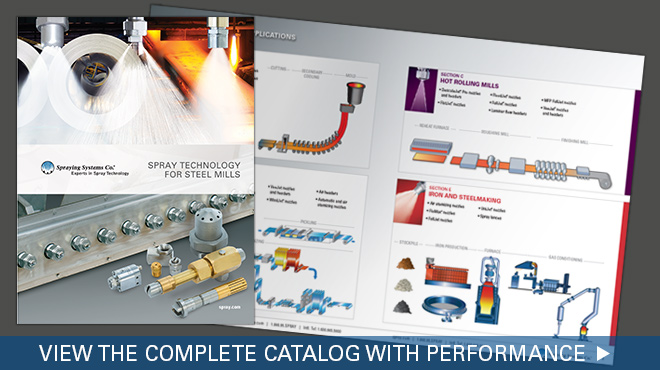 view the complete spray technology for steel mills catalog